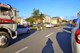 Sancaktepe'de öğrencilerin tehlikeli geçişi Bakan'a soruldu