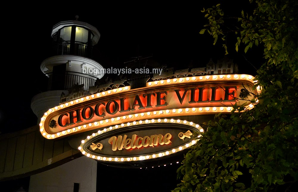 Chocolate Ville in Bangkok, Thailand