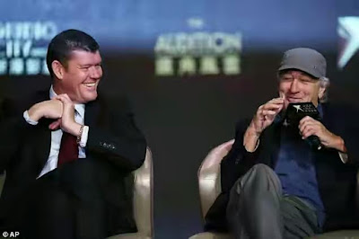 james packer and deniro