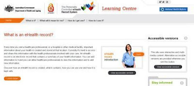 ehealth online learning website image
