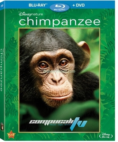 Chimpancés 720p HD Español Latino Dual BRRip 2012