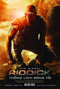 Riddick: Rule The Dark 2013 poster