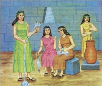 Peruvian art 2014 las acllas incaicas - Musica para cocinar ...