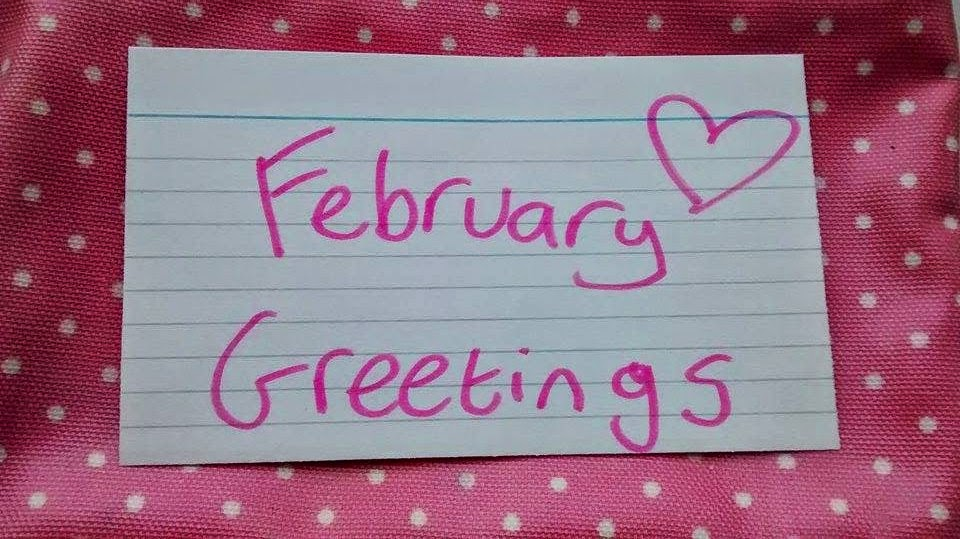 Letter From Ellie: February Greetings