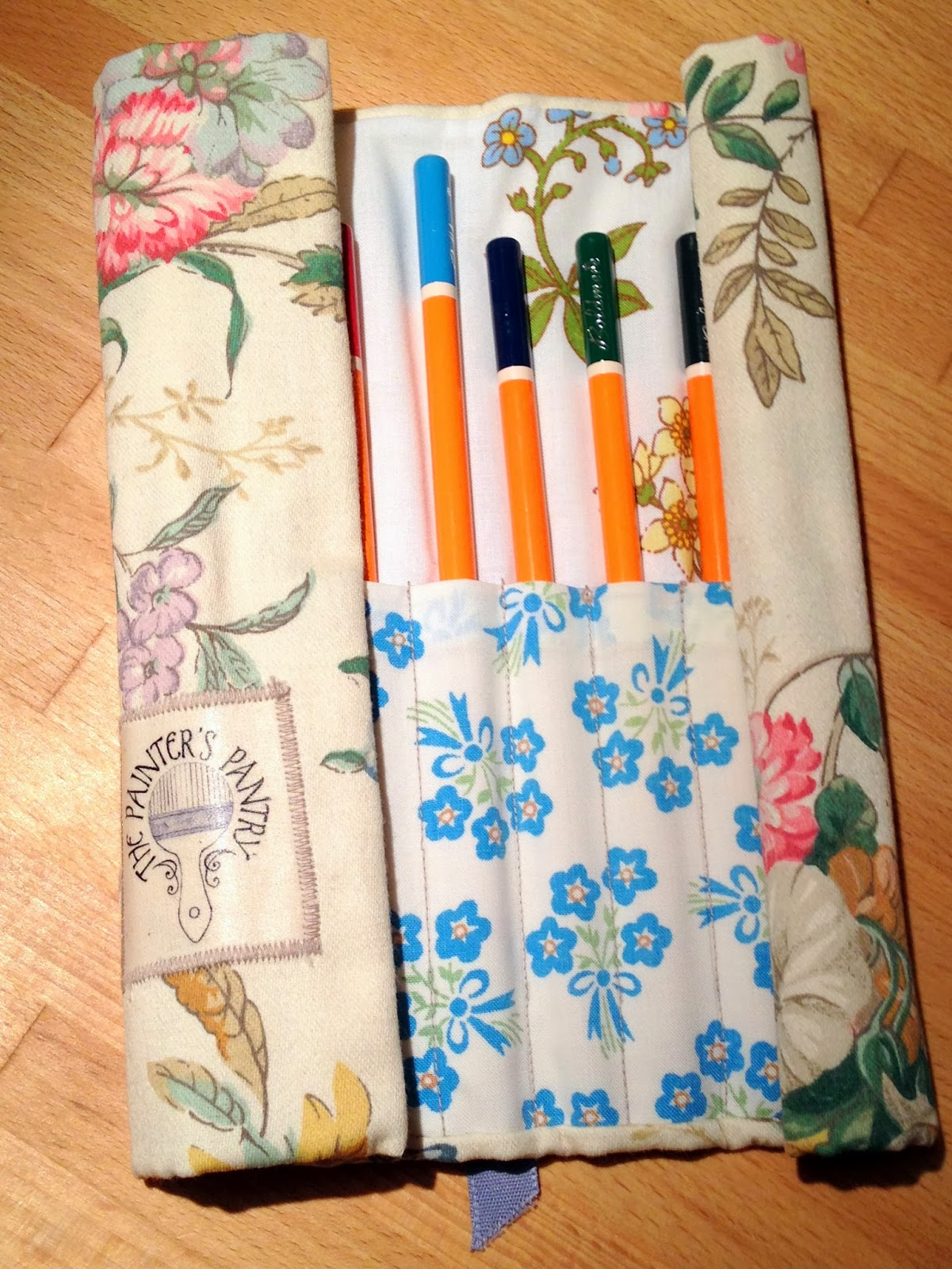 Pencil Wrap using recycled material
