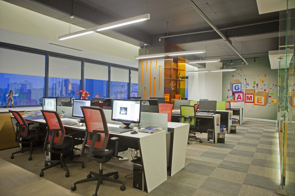 Carla romanelli espa os corporativos for Office room design software