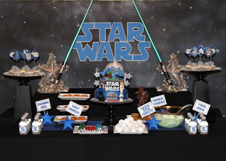 Fiestas Infantiles Decoradas con Star Wars