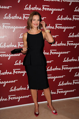 Carole Bouquet Little Black Dress