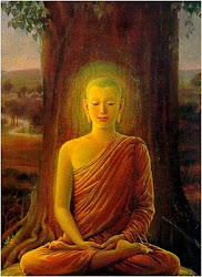 Buddha and the life tree