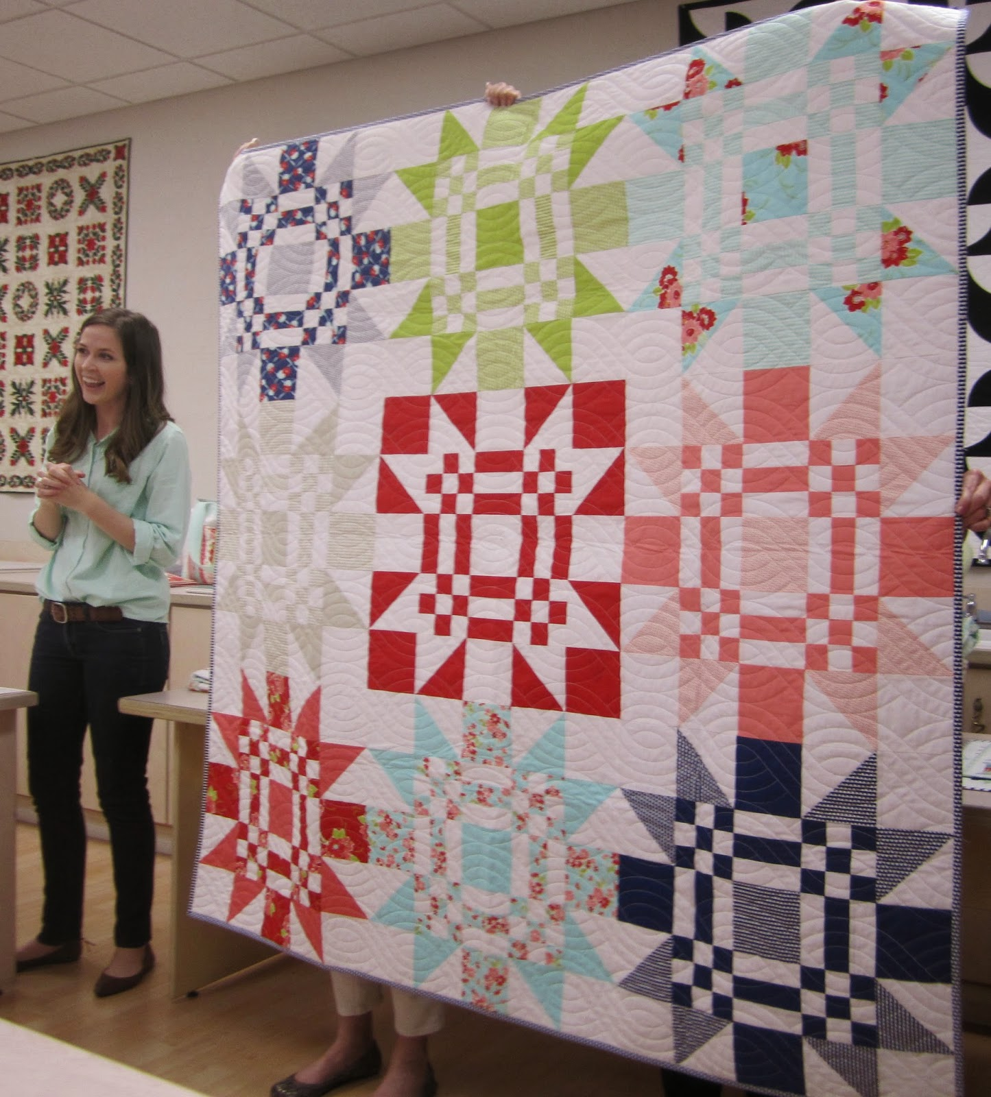 Camille roskelley's red letter day quilt