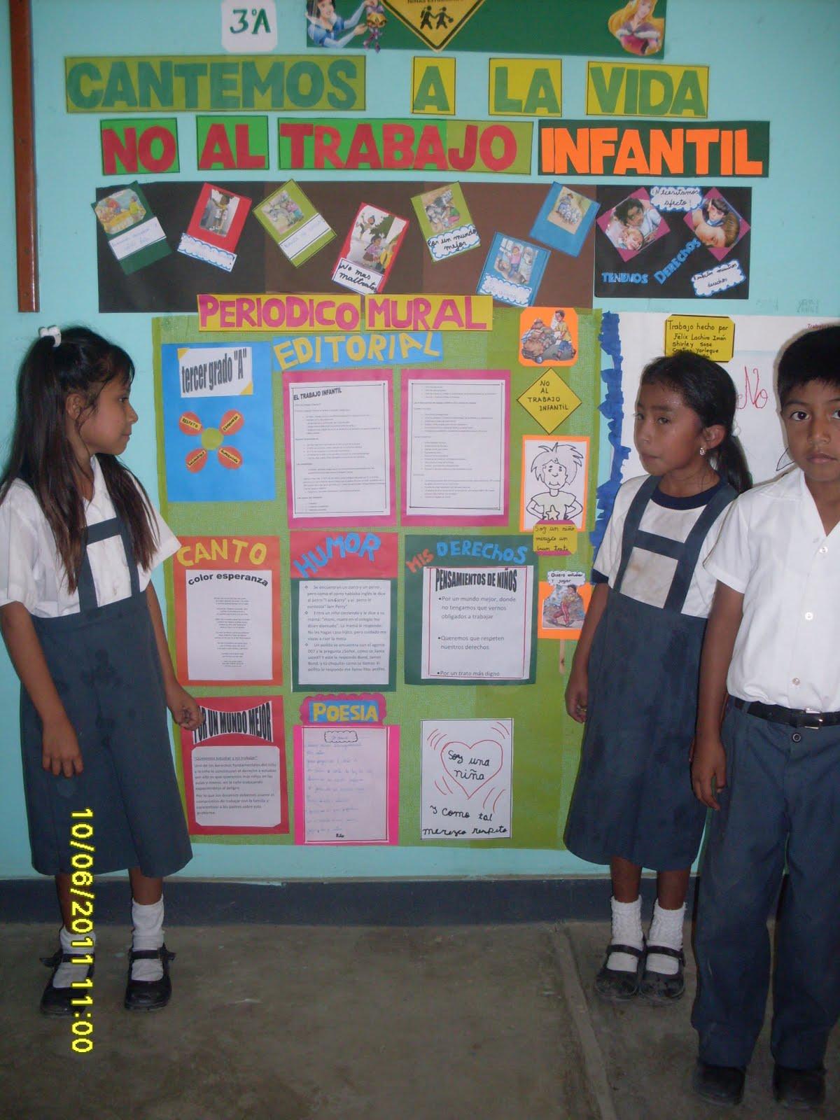 Modelos de periodico mural escolar junio for Diario mural escolar