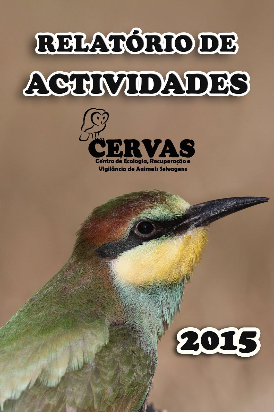 Relatório de actividades CERVAS 2015