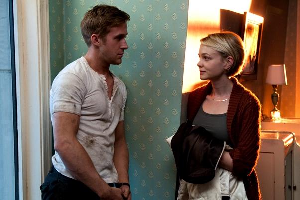 Ryan Gosling y Carey Mulligan en Drive