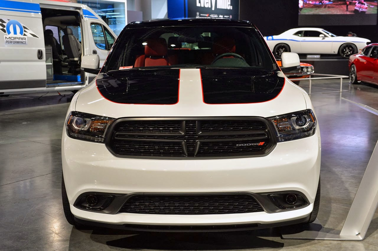 Custom 2014 Dodge Durango R/T Sema 2013 | LUX Garage