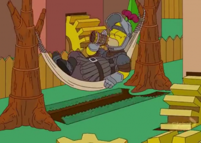 Los Simpsons abren con una antológica intro en homenaje a Game of Thrones