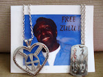 Zulu's Adinkra Pendant and Zu-Tag