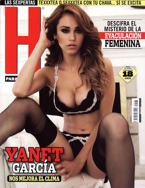 Yanet García Revista H Octubre 2015