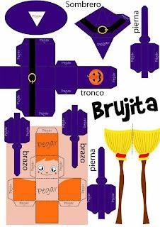 http://manualidadesparaninos.biz/recortable-brujita-manualidades-para-ninos/