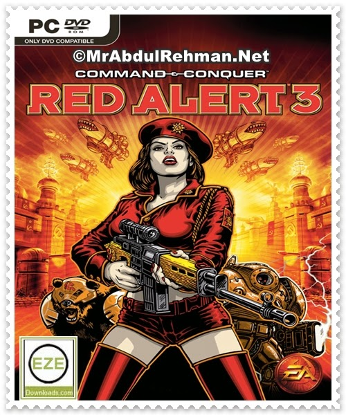 Command and Conquer Red Alert 3 Uprising PC Game Free Download Full Version