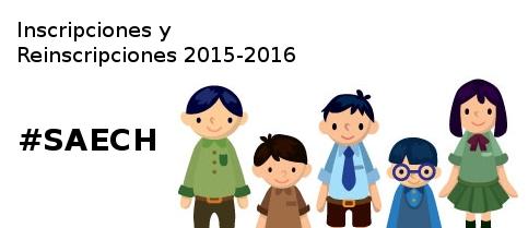 Inscripciones y Reinscripciones 2015-16