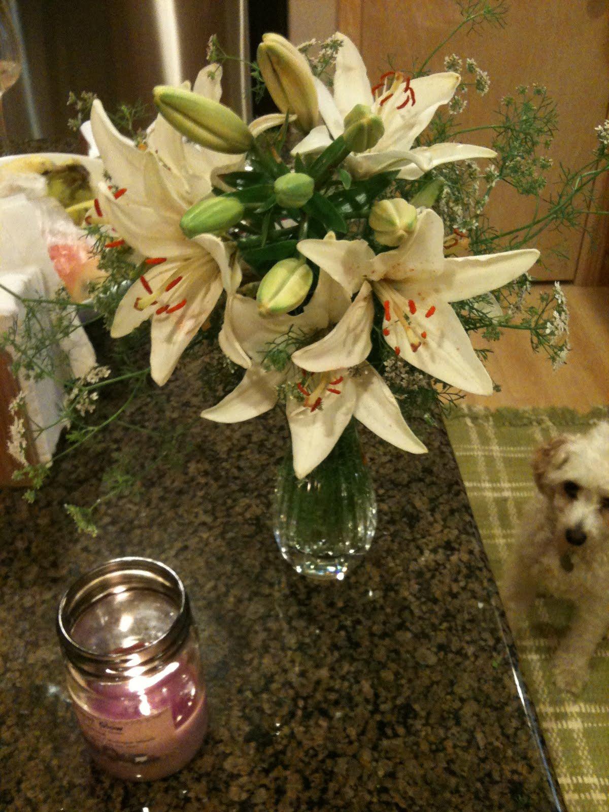 Cut Lilies