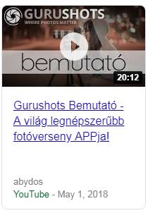 Gurushots - A világ legnépszerűbb fotóverseny APPja!