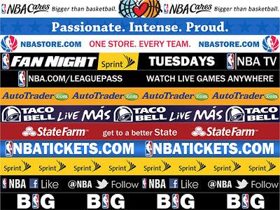 NBA 2K13 Sideline Ads Sponsors Mod