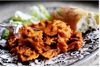 Last Minute Supper Saver- Bow Tie Lasagna