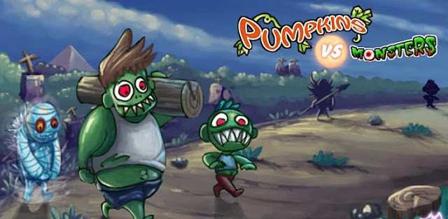 Pumpkins vs. Monsters Android Zombi oyunu