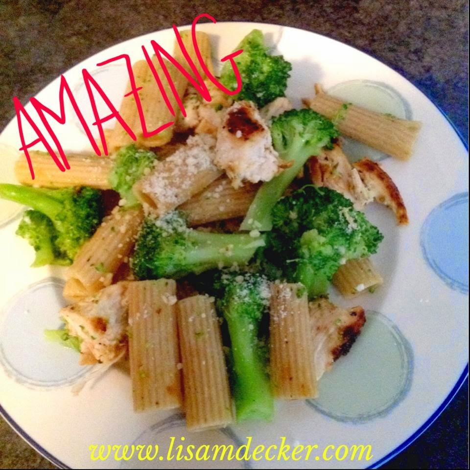 Clean Eating, Chicken and Broccoli Pasta