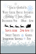 HOLIDAY OPEN HOUSE - 20% OFF ALMOST EVERYTHING!