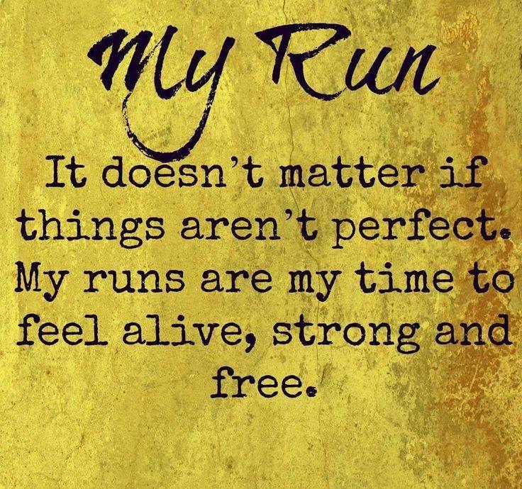 My Run...