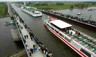 Magdeburg, Water Bridge