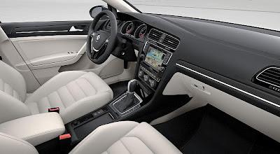 Gli interni della nuova Volkswagen Golf VII