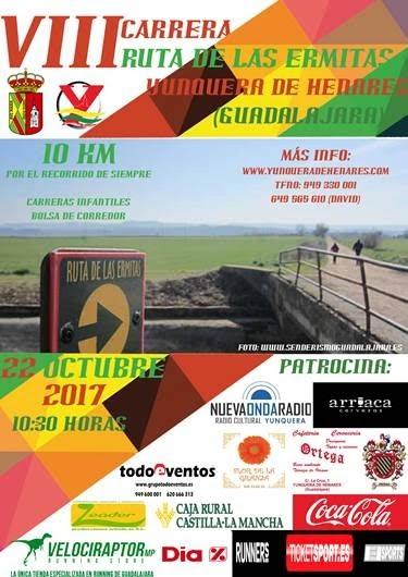 22 Octubre, 10K Ruta de la Ermitas