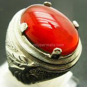 Cincin Batu Permata Red Baron Cat Eye - Sp770