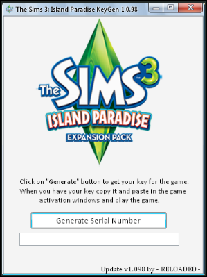 sn the sims 3 island paradise