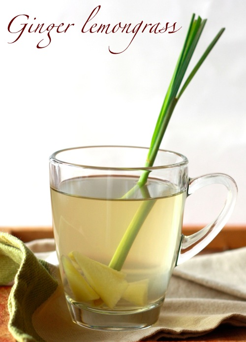 Ginger Lemongrass Spiced Tea by SeasonWithSpice.com