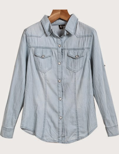 denim shirt, chambray shirt