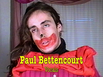 Paul Bettencourt, lead vocalist for the band Flesh.
