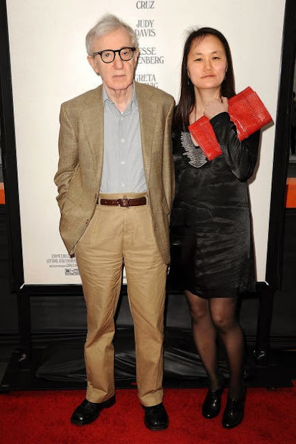 Woody Allen and Soon-Yi PrevinWoody Allen Soon Yi 2013