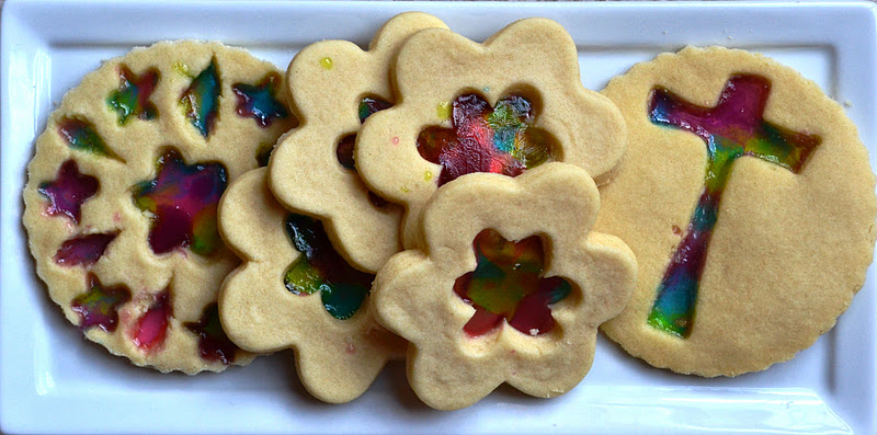 Stained glass cookies? | Baking Forums