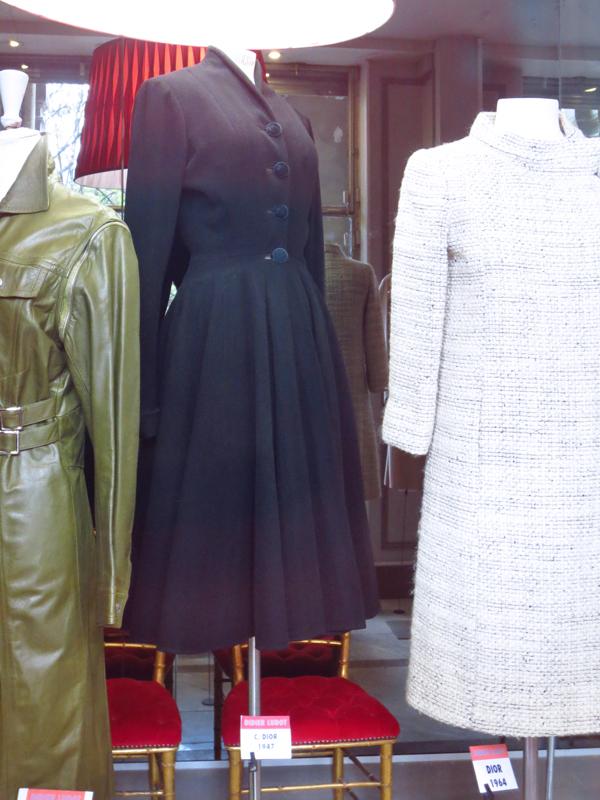 Paris Didier Ludot Christian Dior 1947