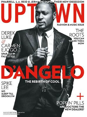 D'Angelo Uptown Magazine