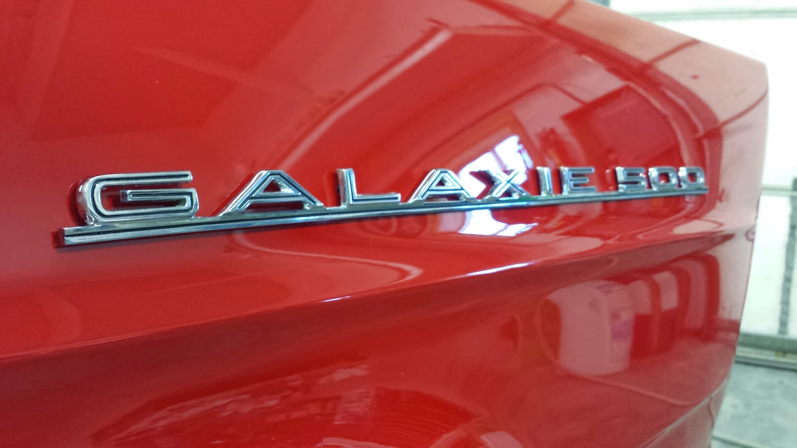 1965 Galaxie 500 fender emblem