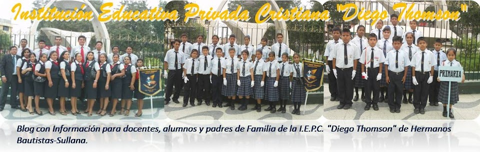 Institución Educativa Privada Cristiana Diego Thomson