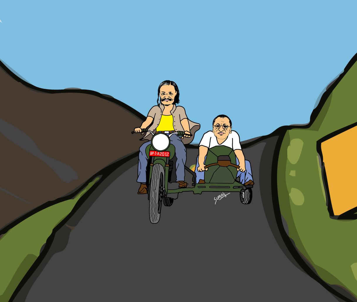 Sholay Motorcycle Hd version of sholay and