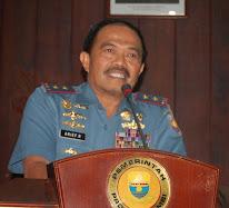 Pangarmabar Laksamana Muda TNI Arief Rudianto Hadiri Ekspose Ujung Jabung Timur
