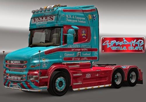 ets 2 yamaları, euro truck simulator 2, yama, yaması, modu, ets2 modu, euro truck simulator 2 modları, scaina tır yamaları