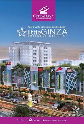 Ruko Citra Raya Little Ginza bisnis district